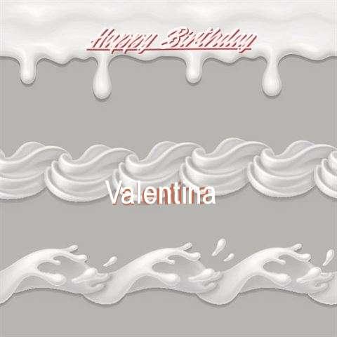 Happy Birthday to You Valentina