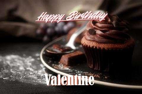 Happy Birthday Cake for Valentine