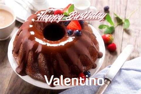 Happy Birthday Wishes for Valentino
