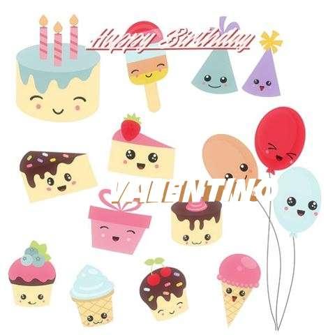 Happy Birthday Cake for Valentino