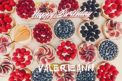 Happy Birthday Valerieann Cake Image