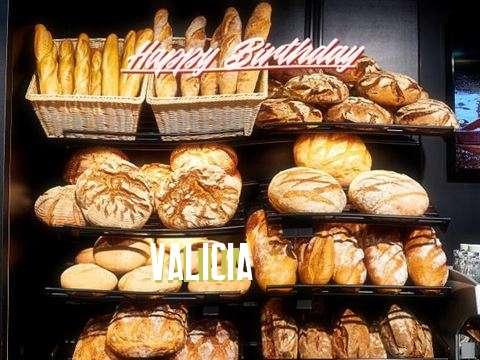 Happy Birthday to You Valicia