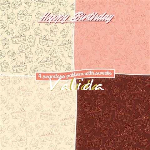Happy Birthday to You Valida
