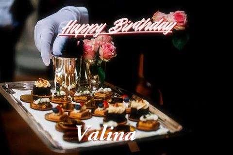 Happy Birthday Cake for Valina