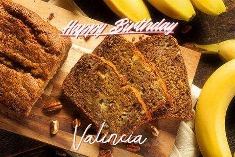 Happy Birthday Wishes for Valincia