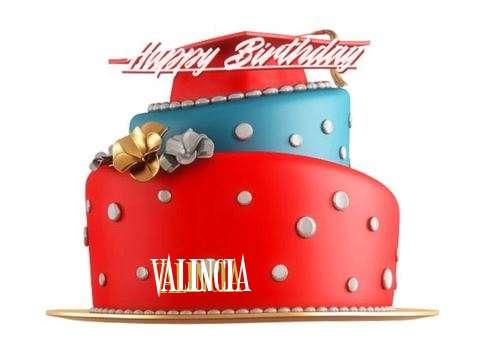Happy Birthday to You Valincia