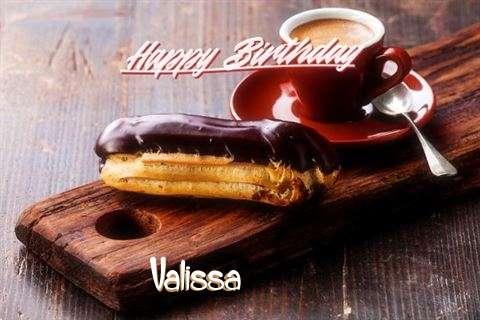 Happy Birthday Valissa Cake Image