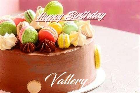Happy Birthday Cake for Vallery