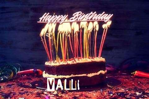 Happy Birthday to You Valli