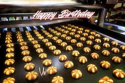 Happy Birthday Cake for Valli