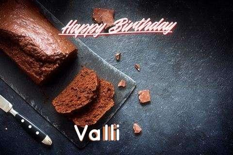 Valli Cakes