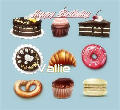 Happy Birthday Vallie