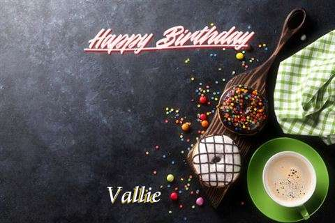 Happy Birthday Wishes for Vallie