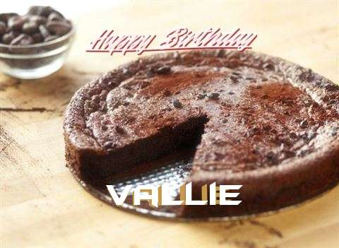Happy Birthday Cake for Vallie