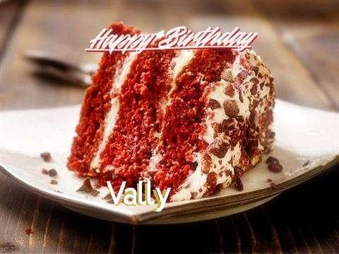 Happy Birthday to You Vally