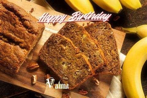 Happy Birthday Valma Cake Image