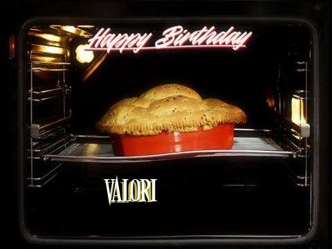 Happy Birthday Wishes for Valori