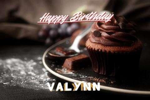 Happy Birthday Wishes for Valynn