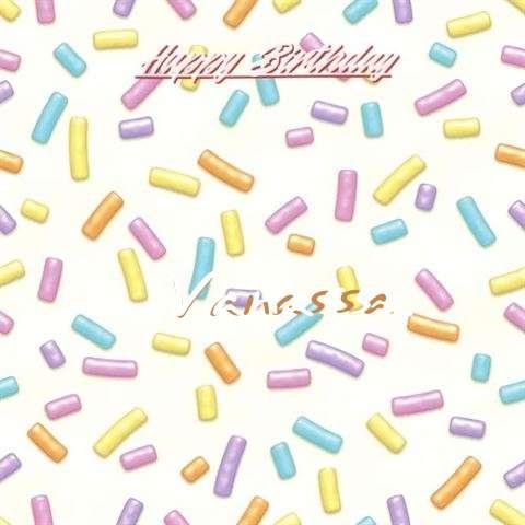 Birthday Wishes with Images of Vanassa