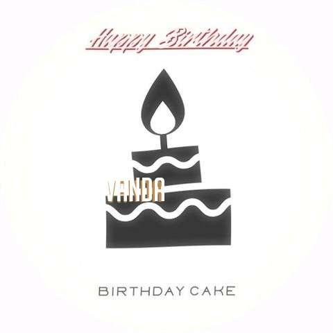 Happy Birthday to You Vanda
