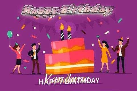 Birthday Wishes with Images of Vandana
