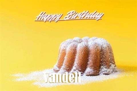 Happy Birthday Vandell