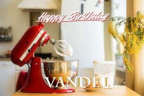 Happy Birthday to You Vandell