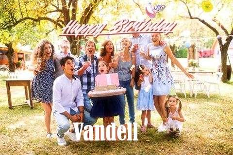 Happy Birthday Cake for Vandell
