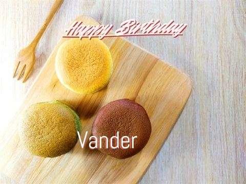 Happy Birthday Vander