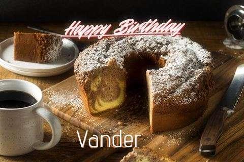 Happy Birthday to You Vander