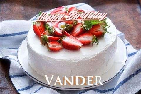 Happy Birthday Cake for Vander