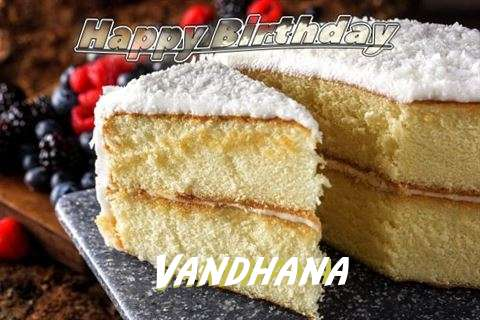Birthday Images for Vandhana