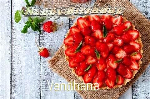 Happy Birthday to You Vandhana
