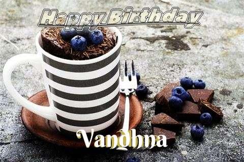 Happy Birthday Vandhna Cake Image