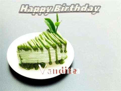 Happy Birthday Vandita