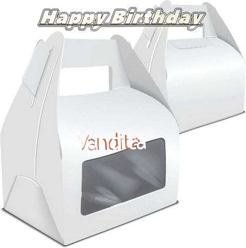 Happy Birthday Wishes for Vandita