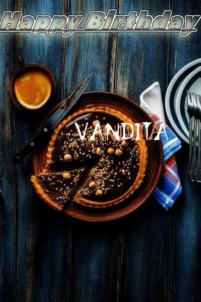 Happy Birthday Cake for Vandita