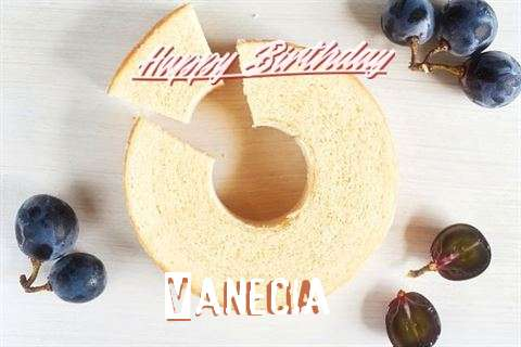 Happy Birthday Vanecia Cake Image