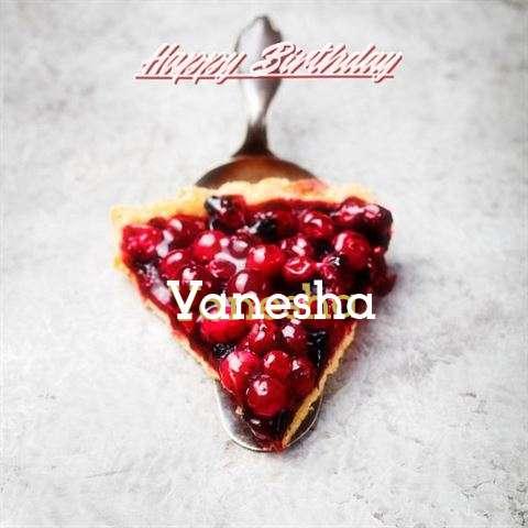 Birthday Images for Vanesha