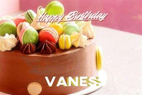 Happy Birthday Cake for Vaness