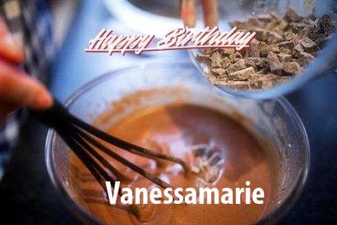 Happy Birthday Vanessamarie Cake Image