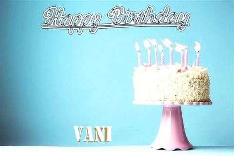 Birthday Images for Vani