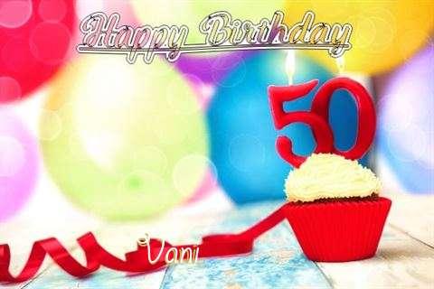 Vani Birthday Celebration