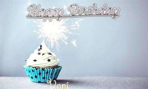 Happy Birthday to You Vani