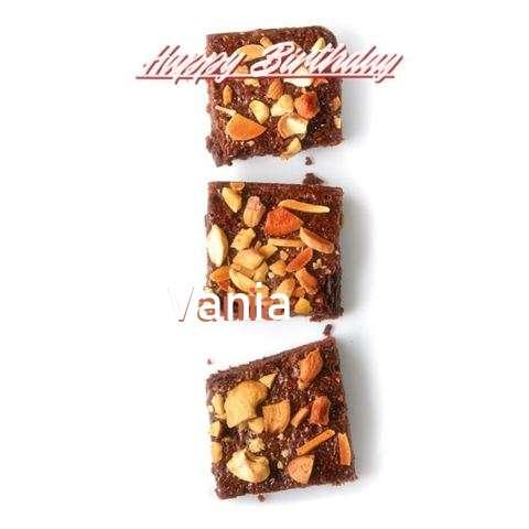 Happy Birthday Cake for Vania