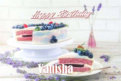 Happy Birthday to You Vanisha