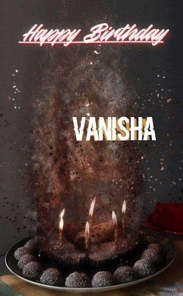 Happy Birthday Cake for Vanisha
