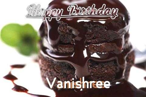 Birthday Wishes with Images of Vanishree