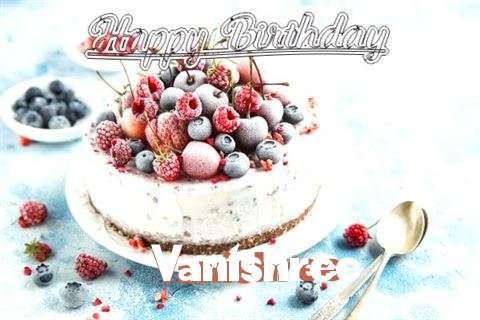 Happy Birthday Cake for Vanishree
