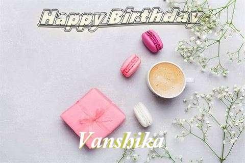 Happy Birthday Vanshika Cake Image